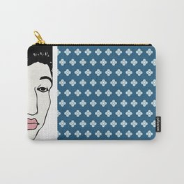 Blue Flowers of China Carry-All Pouch
