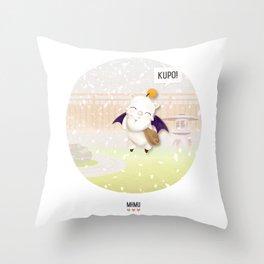 MHMU Throw Pillow