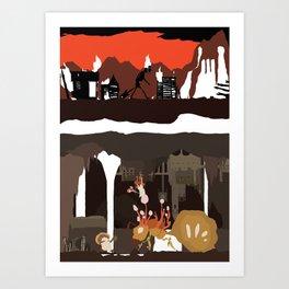 Valkenburg Art Print