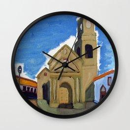 Iglesia San Agustin La Serena Wall Clock