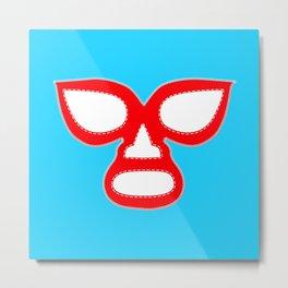 Luchador Mask Metal Print