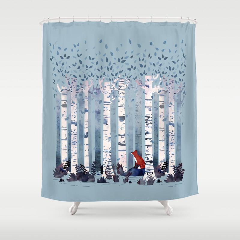 Mallard duck shower curtain - Mallard Duck Shower Curtain