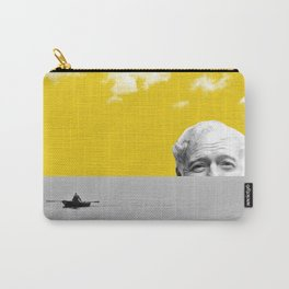Ernest Hemingway | Old man and the Sea | Digital Collage Art Carry-All Pouch