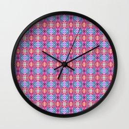 Break Time OG Pattern Wall Clock