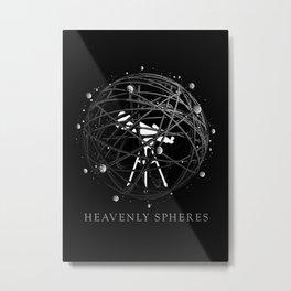 Heavenly Spheres Metal Print
