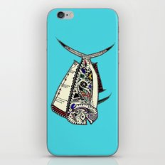 Mahi Mahi color iPhone & iPod Skin