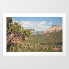 Sedona Skies, No. 1 Art Print