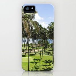 Sri Lankan Sea Shore iPhone Case