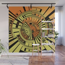 Futuristic technology abstract Wall Mural