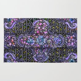 Louis Comfort Tiffany - Decorative stained glass 25. Rug