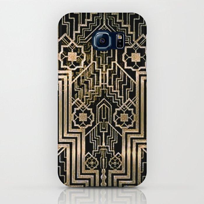 Art Nouveau Metallic design iPhone Case
