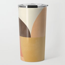 geometric abstract 21 Travel Mug