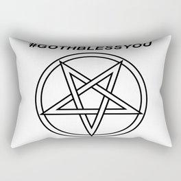 #GOTHBLESSYOU INVERTED INVERSE Rectangular Pillow