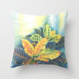 Сolorful Leaves Throw Pillow
