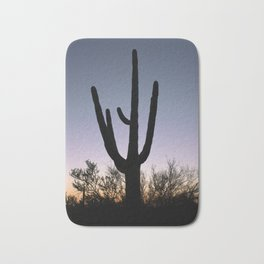 Sunset Cacti Bath Mat
