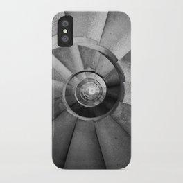 La Sagrada Familia Spiral Staircase iPhone Case
