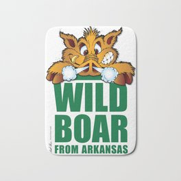 Wild Boar from Arkansas! Bath Mat