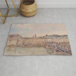 View Of Salzburg 1897 by Rudolf von Alt | Reproduction Rug