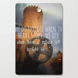 Tower of faith Cutting Board