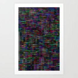 Mosaic no.27 Art Print