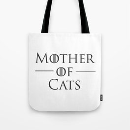 Mother of Cats, Cat Mom, Cat Lover Tote Bag