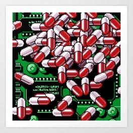 Pills Art Print