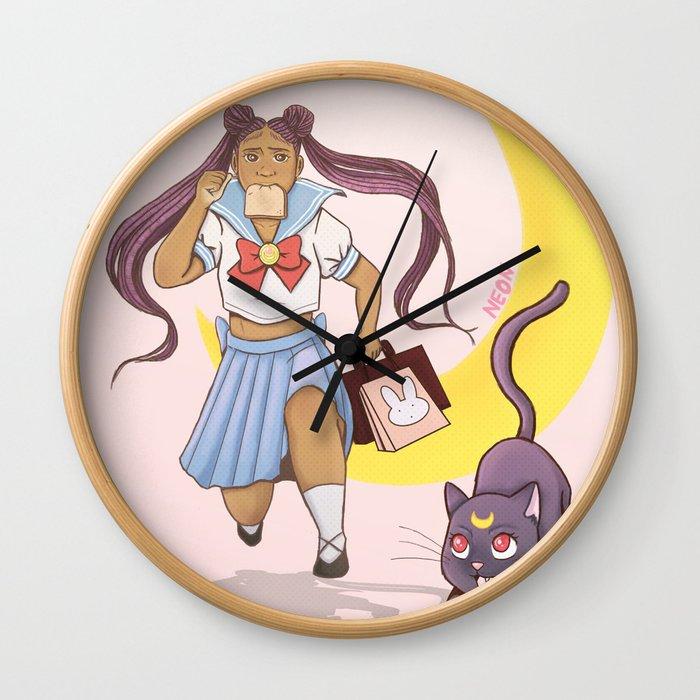 Running Late Wall Clock