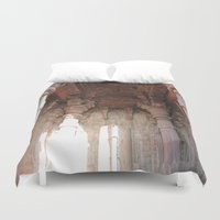 shiva Duvet Covers featuring Bhojpur Shiva Temple by Four Hands Art