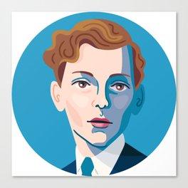 Queer Portrait - Stephen Tennant Canvas Print