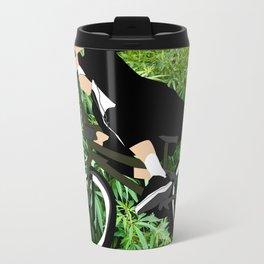 nun loves weed and bmx Travel Mug