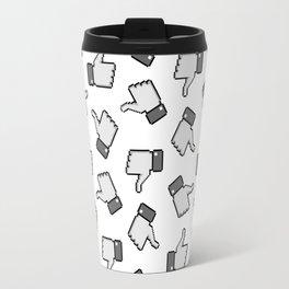 Like Me Pattern Travel Mug