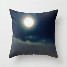 Symphony of Moon Throw Pillow