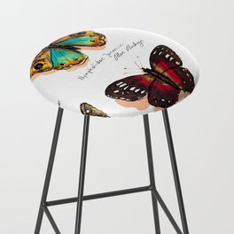 Nymphalidae butterflies Bar Stool