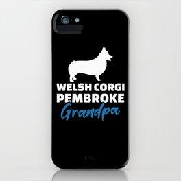 Welsh Corgi Pembroke Grandpa iPhone Case