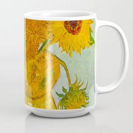 Sunflowers Oil Painting By Vincent van Gogh Coffee Mug