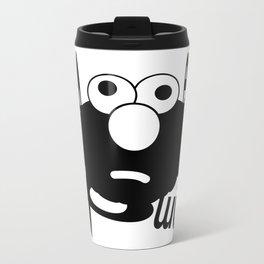 Emo Elmo Metal Travel Mug
