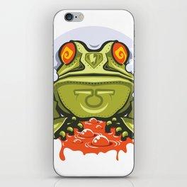 TOAD MECH STICKER - VAPORZOO iPhone Skin