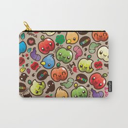 Apple Pattern Carry-All Pouch
