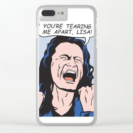 you're tearing me apart, Lisa! Clear iPhone Case