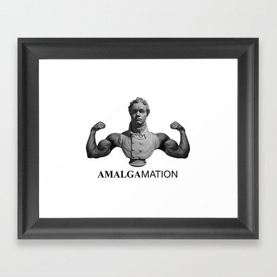Amalgamation #1 Framed Art Print