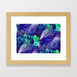 Butterfly in wonderland ... Framed Art Print