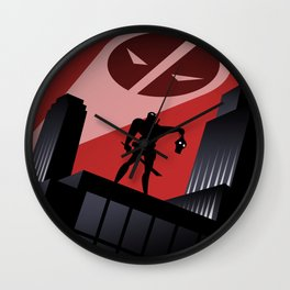 Merc Man: The Animated series Wall Clock