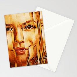 Golden Oranje Dutch Royalty Stationery Cards