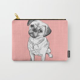 Cute dog but angry Carry-All Pouch