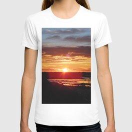 Ground Level Sunset T-shirt