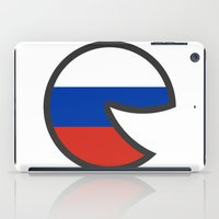 russia iPad Cases featuring Russia Smile by onejyoo