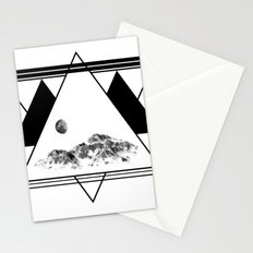 Winter Symmetry Stationery Cards