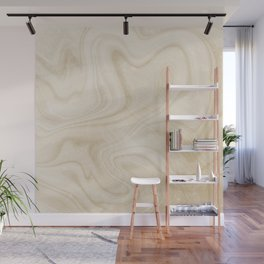 Gold Swirl Marble Wall Mural