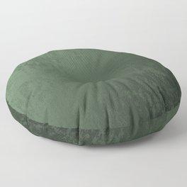Velvet in Green Floor Pillow