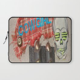 Cowgirl Up Laptop Sleeve
